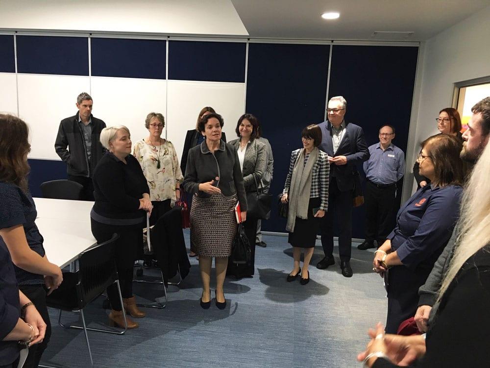 Government Secretaries visit Myhorizon